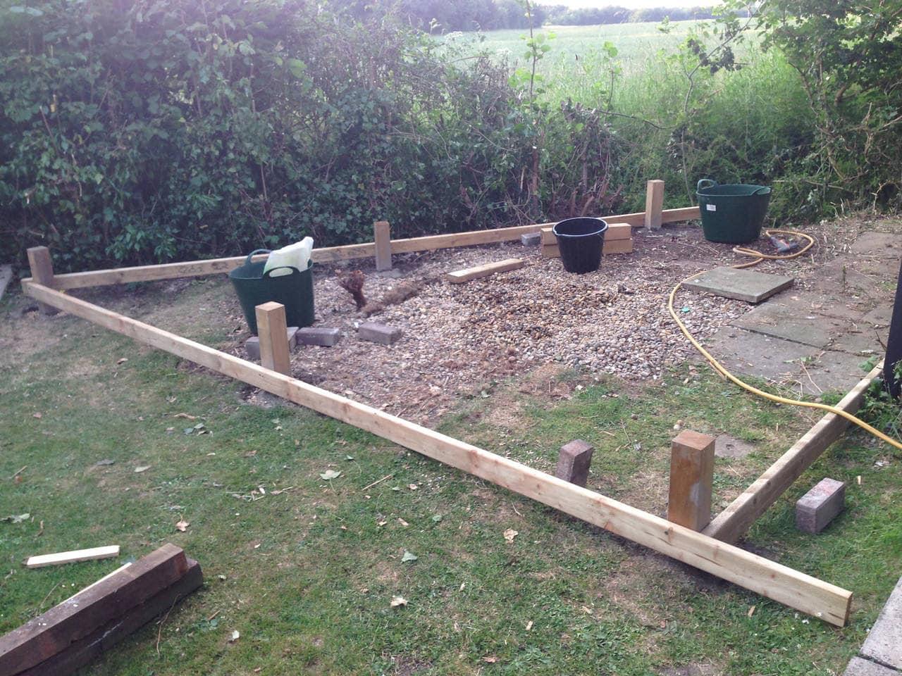 Structural frame taking shape