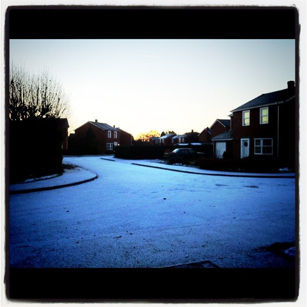 Cold start to the day – instagram testing