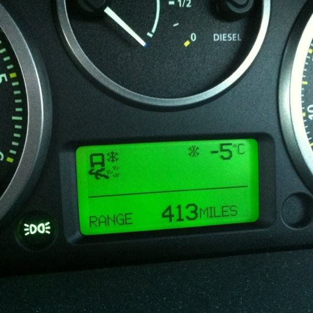 Bit chilly here this morning!