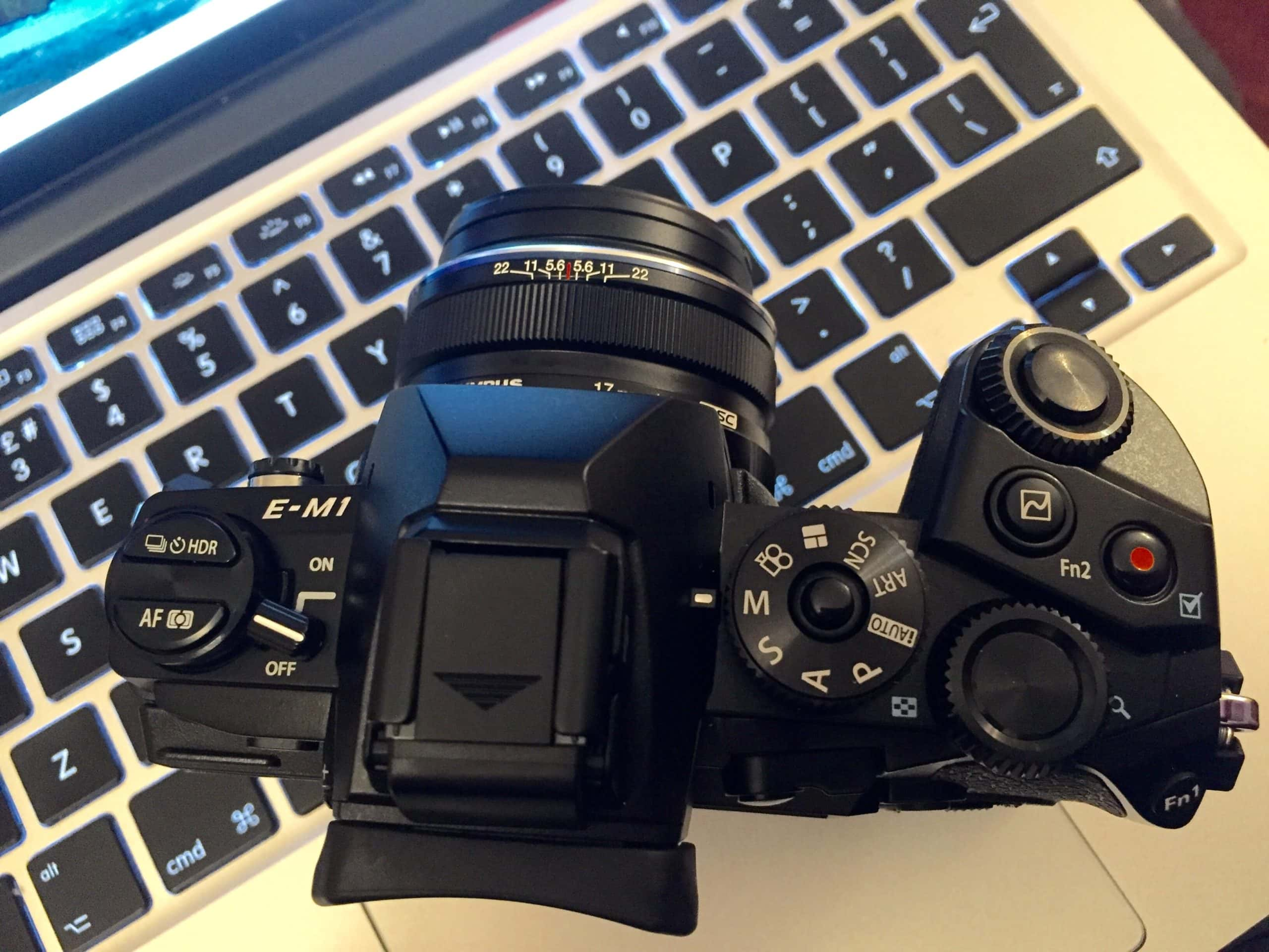 Could this be goodbye Canon, and hello Olympus?